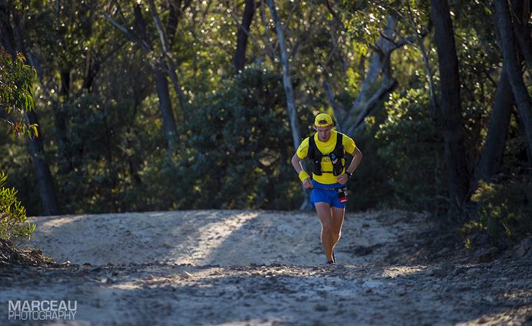 Andrius Ramonas, Ultra Trail Australia. Shot by Lyndon Marceau