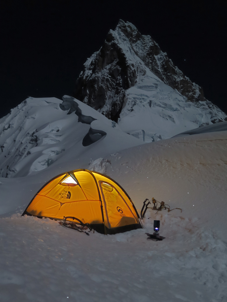 Refuge for the night. Assault 2 shot by Steve Skelton & Pitched: A Look Inside The North Face Assault 2 Tent | The North ...