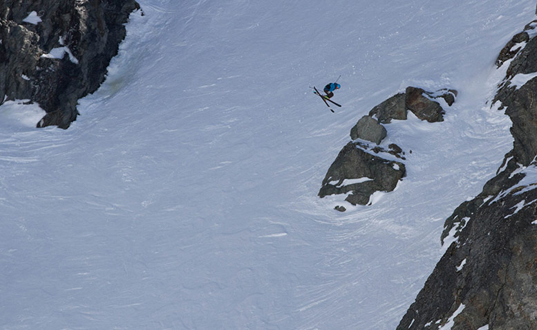 Fraser McDougall, The North Face Freeski Big Mountain Competition 2014