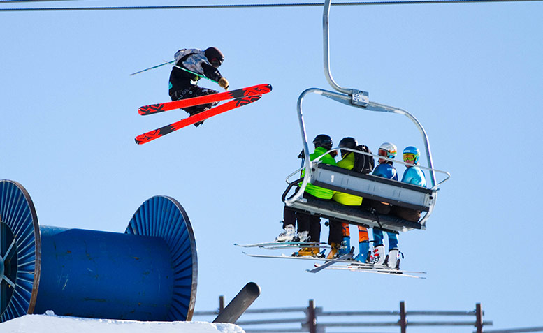 Hank Bilous, Slopestyle The North Face Freeski Open of New Zealand