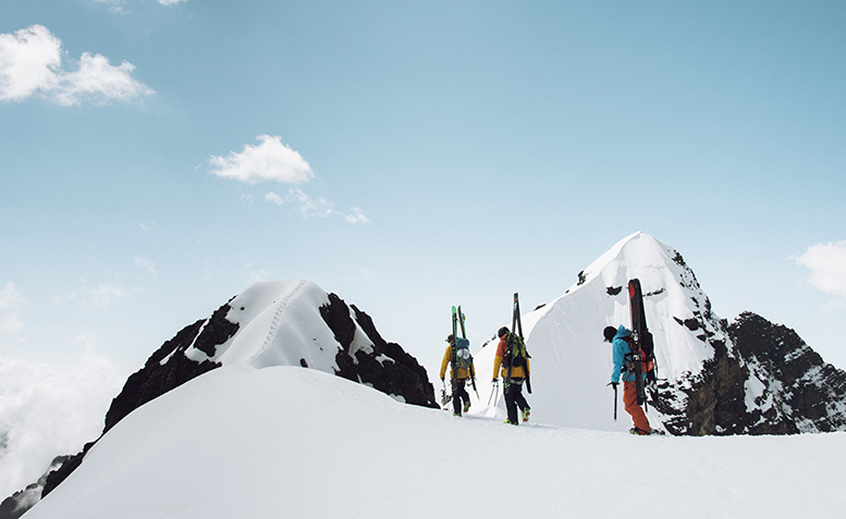 Sam Smoothy, Fraser McDougall and Jonny Collinson in Bolivia, shot by Mickey Ross
