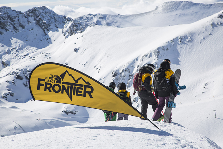The North Face Frontier - Shot by Neil Kerr