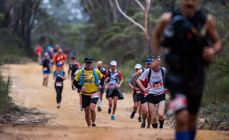 The North Face 100 Blue Mountains shot by Lyndon Marceau