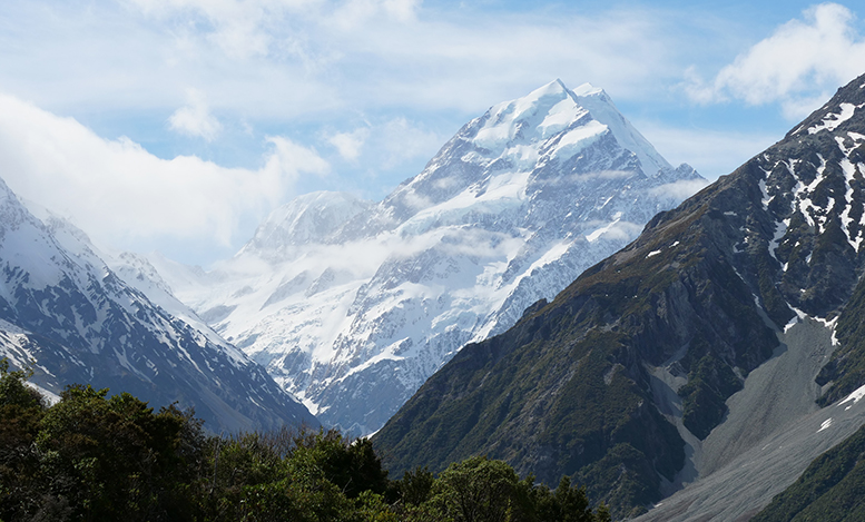 Mount Cook shot by Mickey Ross