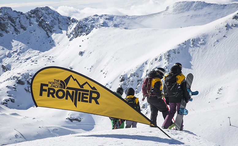 The North Face Frontier shot by Neil Kerr
