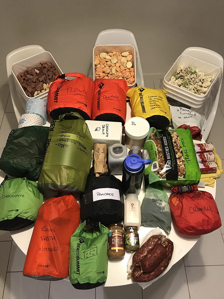 Bulk Food Prep for the Expedition