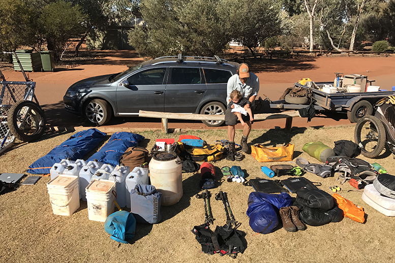 Packling Lightly for an 1800km Expedition