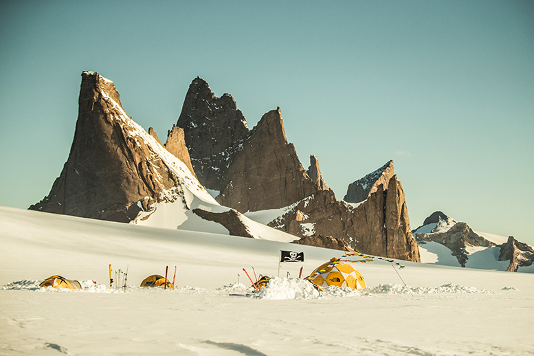 The North Face Antarctica Expedition, shot by Pablo Durana