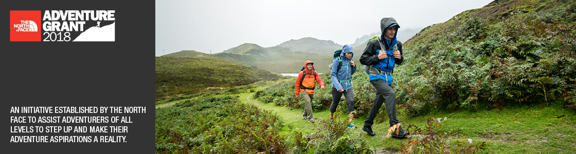 the north face hiking
