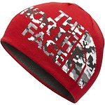 Image of The North Face Australia TNF Red/Asphalt Grey Camo YOUTH ANDERS BEANIE
