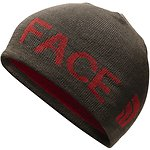 Image of The North Face Australia Bracken Brown/Rage Red REVERSIBLE TNF™ BANNER BEANIE