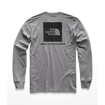 Image of The North Face Australia  MEN'S LONG-SLEEVE RED BOX TEE