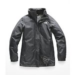 Image of The North Face Australia Tnf black/Foil green WOMEN'S RESOLVE PARKA