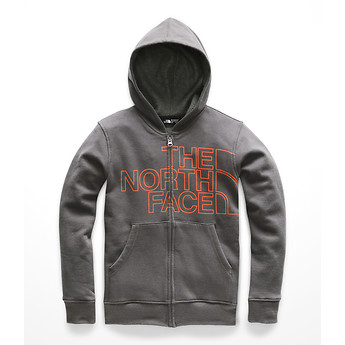 Image of The North Face Australia  BOYS' LOGOWEAR FULL ZIP HOODIE