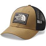 Image of The North Face Australia CARGO KHAKI HEATHER/WEATHERD BLACK MUDDER TRUCKER HAT