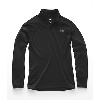 Image of The North Face Australia  WOMEN'S WARM LONG-SLEEVE ZIP NECK