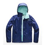 Image of The North Face Australia Sodalite Blue/Mint Blue WOMEN'S RESOLVE 2 JACKET