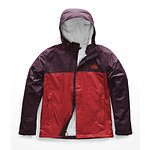 Image of The North Face Australia Rage Red/Fig Brown MEN'S VENTURE 2 JACKET