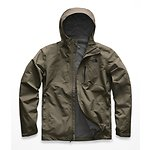 Image of The North Face Australia NEW TAUPE GREEN MEN'S DRYZZLE JACKET