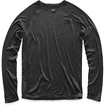 Image of The North Face Australia TNF DARK GREY HEATHER (STD) MEN'S WOOL BASELAYER LONG-SLEEVE CREW NECK