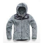 Image of The North Face Australia Mid Grey/Periscope Grey Stripe GIRLS' OSO HOODIE