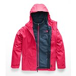 Image of The North Face Australia Atomic Pink GIRLS' MOUNTAIN VIEW TRICLIMATE® JACKET