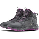 Image of The North Face Australia DARK SHADOW GREY/WILD ASTR PURPLE WOMEN'S UTRA FASTPACK III MID GTX