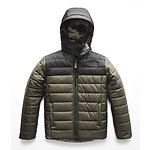 Image of The North Face Australia NEW TAUPE GREEN BOYS' REVERSIBLE PERRITO JACKET