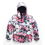 Image of The North Face Australia Atomic Pink Digi Floral Print GIRLS' BRIANNA INSULATED JACKET