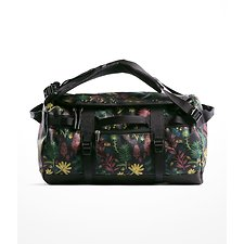 Image of The North Face Australia Medieval Grey Woodland Floral Print/Mid Grey BASE CAMP DUFFEL - XS