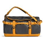 Image of The North Face Australia Asphalt Grey-Zinnia Orange BASE CAMP DUFFEL - S