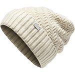 Image of The North Face Australia VINTAGE WHITE HEATHER WOMEN'S REYKA BEANIE