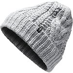 Image of The North Face Australia TNF LIGHT GREY HEATHER CABLE MINNA BEANIE