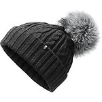 Image of The North Face Australia TNF BLACK WOMEN'S OH-MEGA FUR POM BEANIE