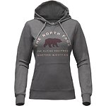Image of The North Face Australia TNF MEDIUM GREY HEATHER WOMEN'S LIGHTWEIGHT TRI-BLEND PULLOVER HOODIE