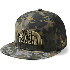 Image of The North Face Australia New Taupe Green Macro fleck Print NEW ERA® 59FIFTY FITTED CAP