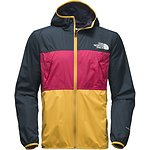 Image of The North Face Australia URBAN NAVY/RASPBERRY RED/TNF YELLOW MEN'S TELEGRAPH WIND JACKET