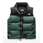 Image of The North Face Australia Botanical Garden Green WOMEN'S 1996 RETRO NUPTSE VEST