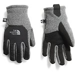 Image of The North Face Australia TNF MEDIUM GREY HEATHER/TNF BLACK YOUTH DENALI ETIP™ GLOVE