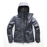 Image of The North Face Australia Grisaille Grey Heather WOMEN'S LENADO JACKET