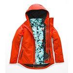 5c8ed32b0ddb Image of The North Face Australia VALENCIA ORANGE WOMEN S CLEMENTINE  TRICLIMATE® JACKET