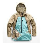 Image of The North Face Australia Kelp Tan/Transantarctic Blue WOMEN'S CEPTOR ANORAK