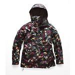 Image of The North Face Australia TNF Black Toucan Print WOMEN'S TANAGER JACKET