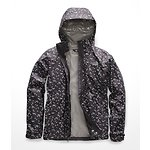 Image of The North Face Australia Weathered Black Sparse Triangle Print WOMEN'S PRINT VENTURE JACKET