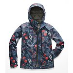 Image of The North Face Australia Blue Wing Teal Joshua Tree Print WOMEN'S PRINT VENTURE JACKET