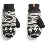 Image of The North Face Australia WEATHERED BLACK MULTI WOMEN'S FAIR ISLE MITT
