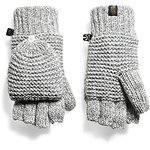 Image of The North Face Australia TNF MEDIUM GREY HEATHER (STD) WOMEN'S PURRL STITCH MITTS