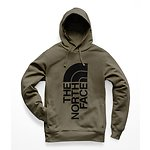 Image of The North Face Australia NEW TAUPE GREEN/TNF BLACK MEN'S TRIVERT PULLOVER HOODIE