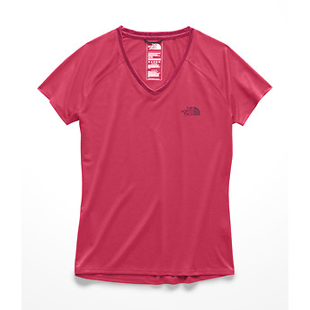Image of The North Face Australia  WOMEN'S SHORT-SLEEVE REAXION V-NECK TEE