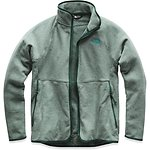 Image of The North Face Australia Botanical Garden Green Heather WOMEN'S GLACIER ALPINE FULL ZIP